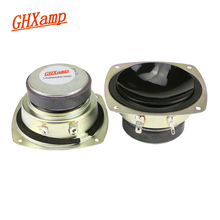 Altavoz de rango medio de 3 pulgadas GHXAMP Hifi, Altavoz Bluetooth de 4Ohm y 30W, altavoz DIY para Audio de teatro en casa o coche, actualización de 2 uds