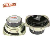 GHXAMP Hifi 3 Cal głośnik średniotonowy 4ohm 30W głośnik Bluetooth DIY dla kina domowego samochodowy sprzęt audio Upgrade 2 sztuk