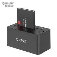 ORICO 2.5/3.5 inch USB3.0 SATA HDD/SSD Hộp Đĩa Cứng Docking Station Ổ Cứng Trường Hợp Enclosure 8 TB với 12V2A Điện Adapter