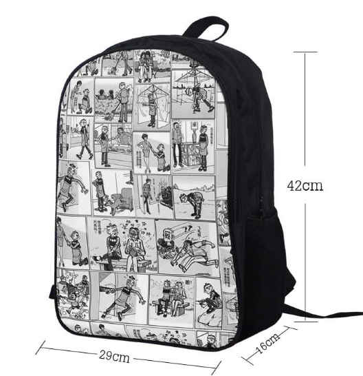 16 Inch FAIRY TAIL Backpack For Teenagers Girls Boys School Bags Natsu  Dragneel Daily Backpack Erza Scarlet Backpacks Kids Bag-in School Bags from  Luggage ... 2db820cdcf825