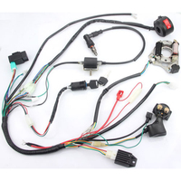 For 50 70 90 110 125CC ATV Full Electrics Wiring Harness Loom CDI Coil For Motorcycle ATV Starter Solenoid Relay Accessories