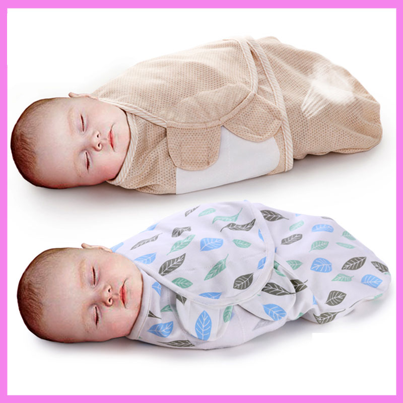 Summer Cotton Newborn Baby Anti Startle Sleeping Bag