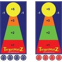 Олимпия Спорт GE298P TargetMatZ с требует 2 команды состоящий из 2 игроков