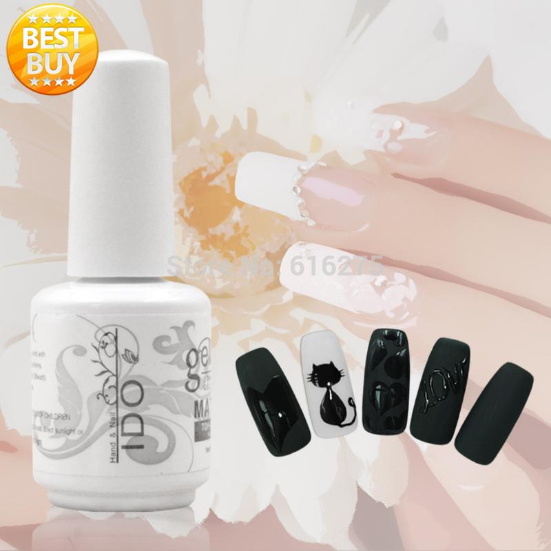 New arrival Nail soak off Matt top coat 15ml gel polish 50pcs Matte Top-it-off Free shipping cnd big size soak off cnds shellac base 12 5ml top coat 15ml xpress 5 top coat 15ml