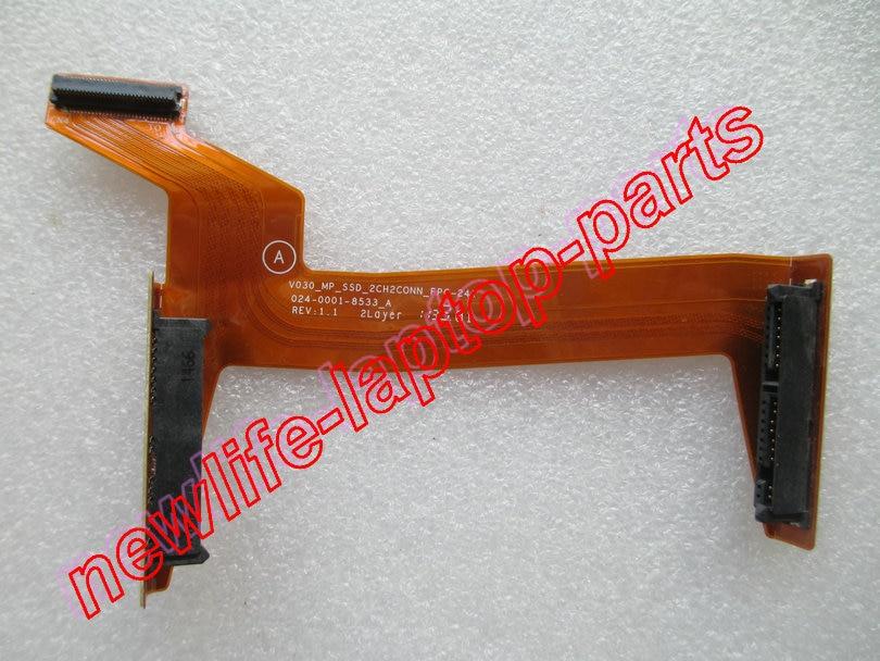 original VPCSA SD SB SC Z21 Z22 Z23 Series LIF SSD Cable V030_MP_SSD_2CH FPC-241 024-0001-8533_A test good free shipping original laptop fpc cable v120 mssd l fpc 014 0001 805 a test good free shipping