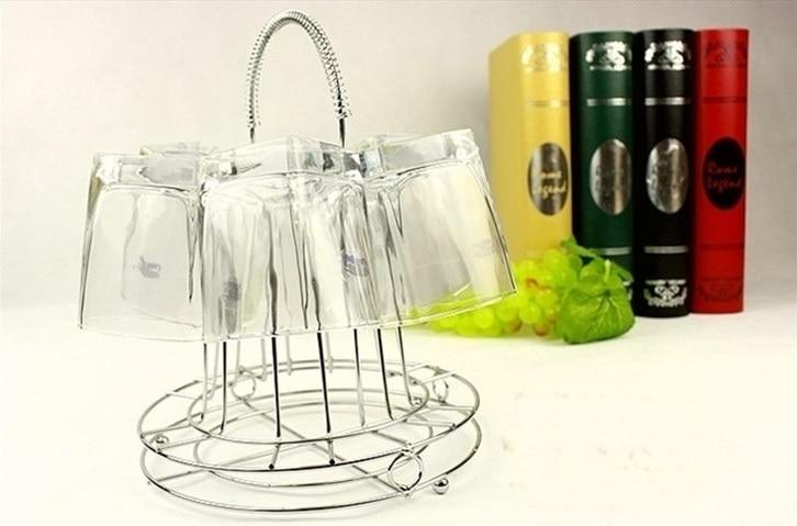 10.23 inch Kitchen Glass Cup Storage Holder Tea Coffee Mug