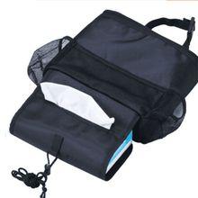 gaijia Car Auto Seat Back Multi-Pocket Storage Bag Organizer Holder Travel Hanger Black