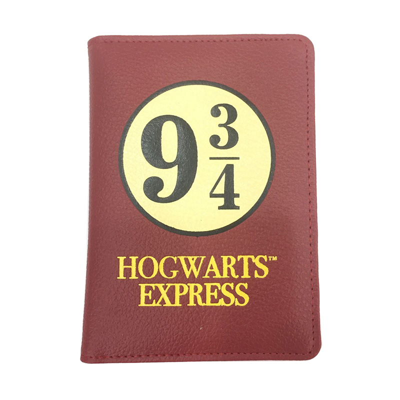 14 Styles Harry Potter Passport Cover Movies Anime Fashion Travel Passport Holder Case for Men Women PU Leather ID Card Holders harry styles paris