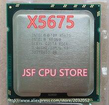 Lntel X5675 CPU Procesor Sześć-Core/3.06 Ghz/L3 = 12 M/95 W Gniazdo LGA 1366 Pulpit CPU (pracy 100% Free Shipping)