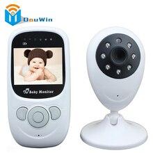 Baby Monitor LCD Audio Video Radio Walkie Talkie Inalámbrica Niñera Música De Intercomunicación IR 24 h Cámara de Bebé Portátil Bebé Bebé DouWin