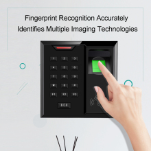 Eseye Fingerprint Access Control System Biometric Fingerprint Reader Sensor Door Access Control Password Electronic Machine цена