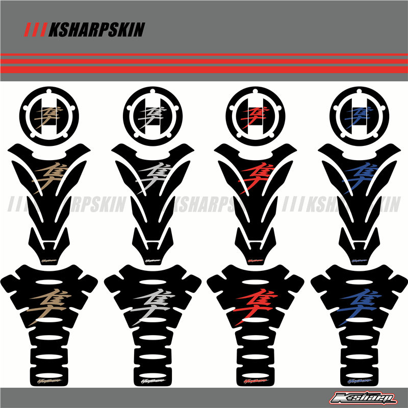 3D Motorcycle Tank Gas Cap Pad Tank Pad Decal Protector Stickers Fit For SUZUKI HAYABUSA GSXR1300 GSX1300 R GSXR 1300