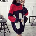 Women Sweater 2016 Winter New Fashion Knitted Pullovers High Quality Thick Sweaters Warm Pull Femme Sweter Mujer SZQ094