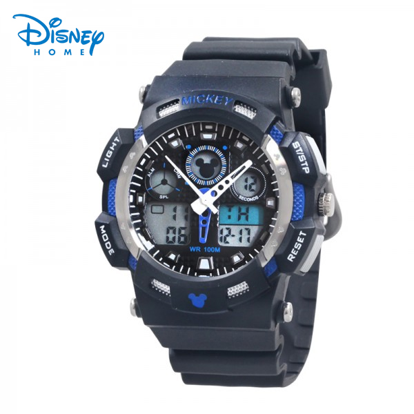 100% Genuine Disney Sports Watch Men Digital Quartz Alarm Wristwatches Outdoor Military Casual Watches Reloj LP-PS027-8 pedometer heart rate monitor calories counter led digital sports watch fitness for men women outdoor military wristwatches