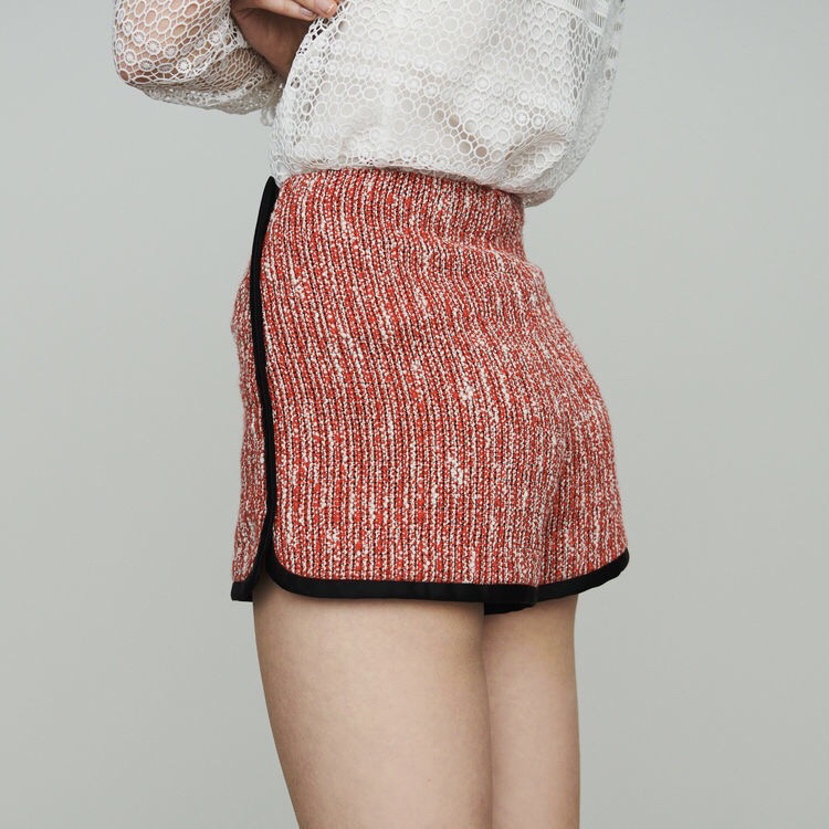 2019 Spring New Arrival Hit The Color Lace Edge Women High Waist Sweet Shorts