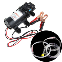 DC12V 5L Transfer Pump Extractor Oil Fluid Scavenge Suction Vacuum For Car Boat