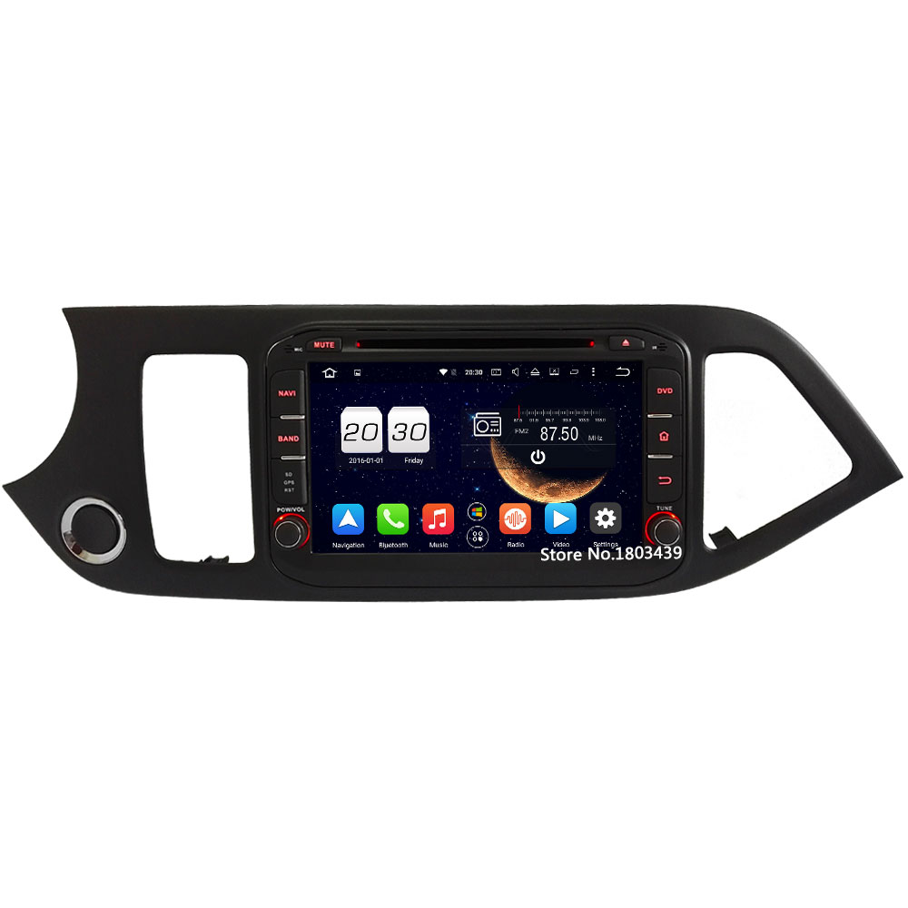 4GB RAM 4G WIFI Android 6.0 Octa Core DAB+ RDS Car DVD GPS Radio Player For Kia Picanto Morning 2011 2012 2013 2014 2015 2016 ownice c500 4g sim lte octa 8 core android 6 0 for kia ceed 2013 2015 car dvd player gps navi radio wifi 4g bt 2gb ram 32g rom