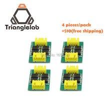 Trianglelab 4 шт./упак. TL-Плавное новый комплект аддон модуль для 3D пинтер двигателя драйверов бесплатная доставка