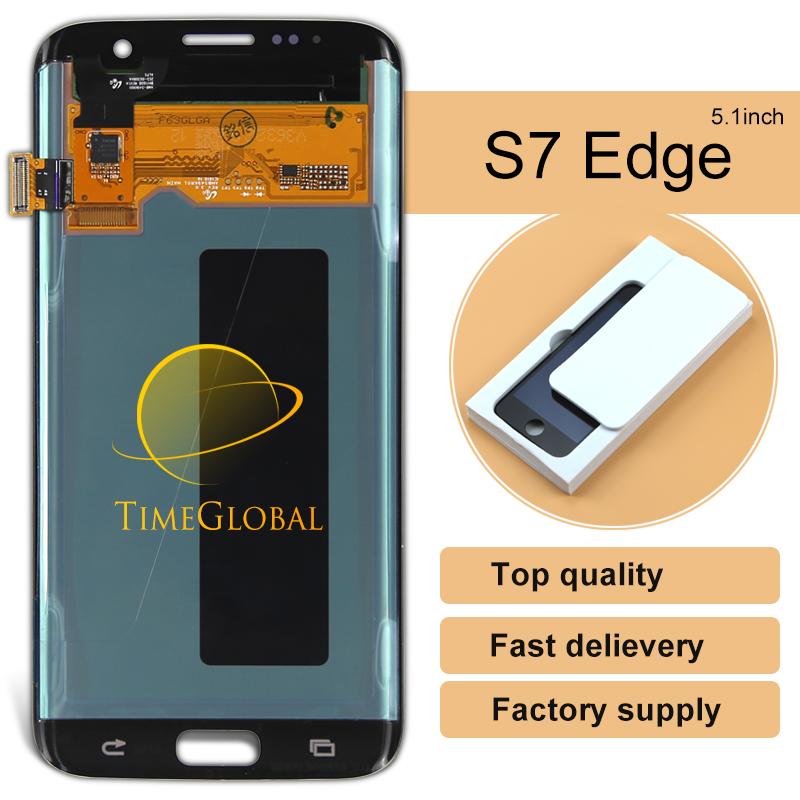 Prix pour 5 pcs Pièces de Téléphone Mobile Pour Samsung Galaxy S7 Edge Lcd Digitizer Écran D'affichage De Remplacement Sm-g935 Nouvelle Vente Directe