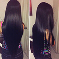 "7A Brazilian Virgin Hair Straight 4 Bundles Brazilian Straight Hair Weave 8""-28"" Virgin Brazilian Straight Hair Human Hair Weave"