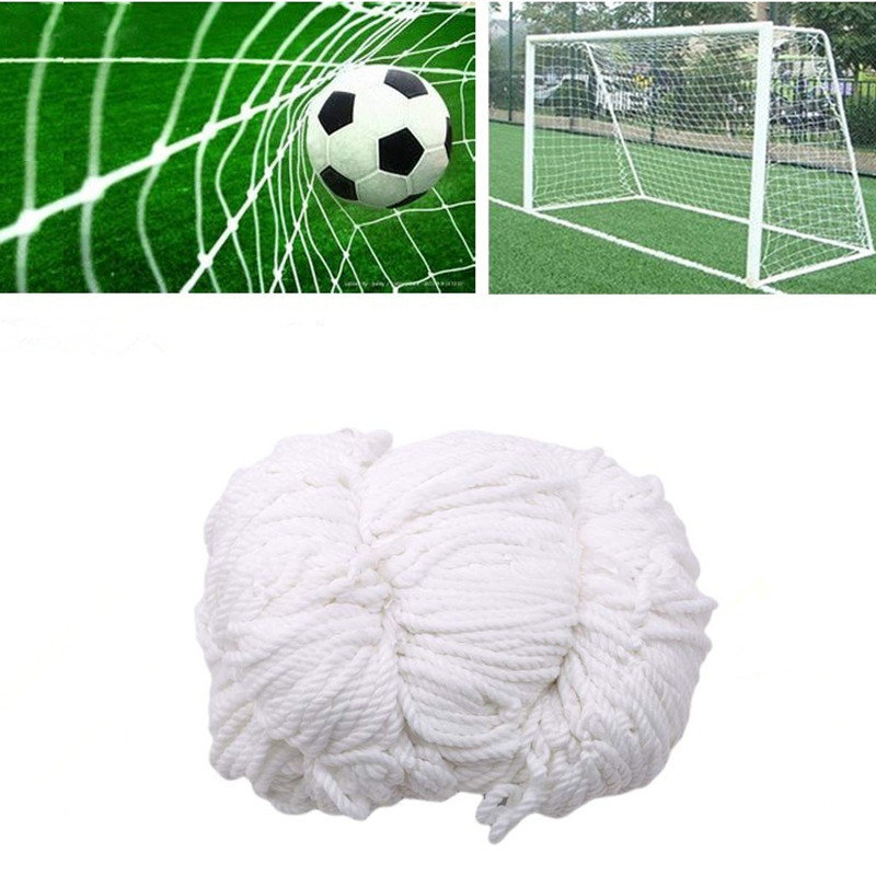 Soccer Ball Net For Football Goal Post Mesh For Gates Polyethylene Training Post Nets Outdoor Footall Kids Match Junior Sports