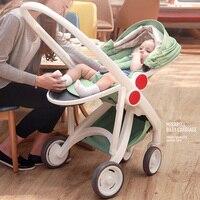 Детские коляски S может сидеть и лежать Детские коляски можно складывать Детские коляски зима лето Бесплатная доставка Портативный