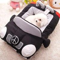 Yeni Süper yumuşak sıcak kısa peluş köpek kedi evi Pet köpek yatak oyuncak VIP yuva spor araba köpek kulübesi cattery Ücretsiz kargo