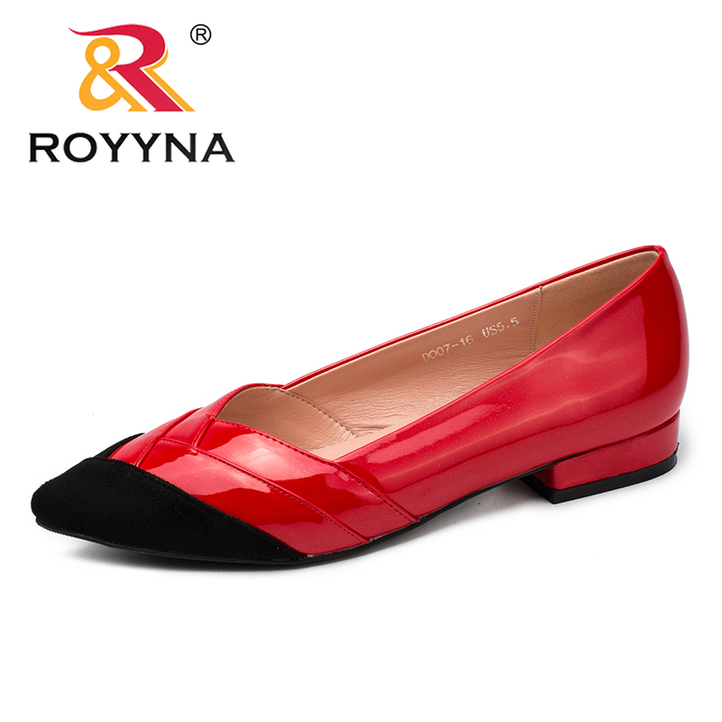 ROYYNA New Fashion Style Women Pumps Pointed Toe Women Dress Shoes Shallow Lady Wedding Shoes Light Comfortable Free Shipping royyna new fashion style women pumps round toe women dress shoes high heels women office shoes slip on lady wedding shoes