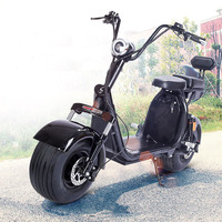 Электрический скутер взрослых Citycoco Nocturn жир шин e велосипед 1000 Вт автоматический Перезаряжаемые Батарея гидравлический двойной диск Двухме