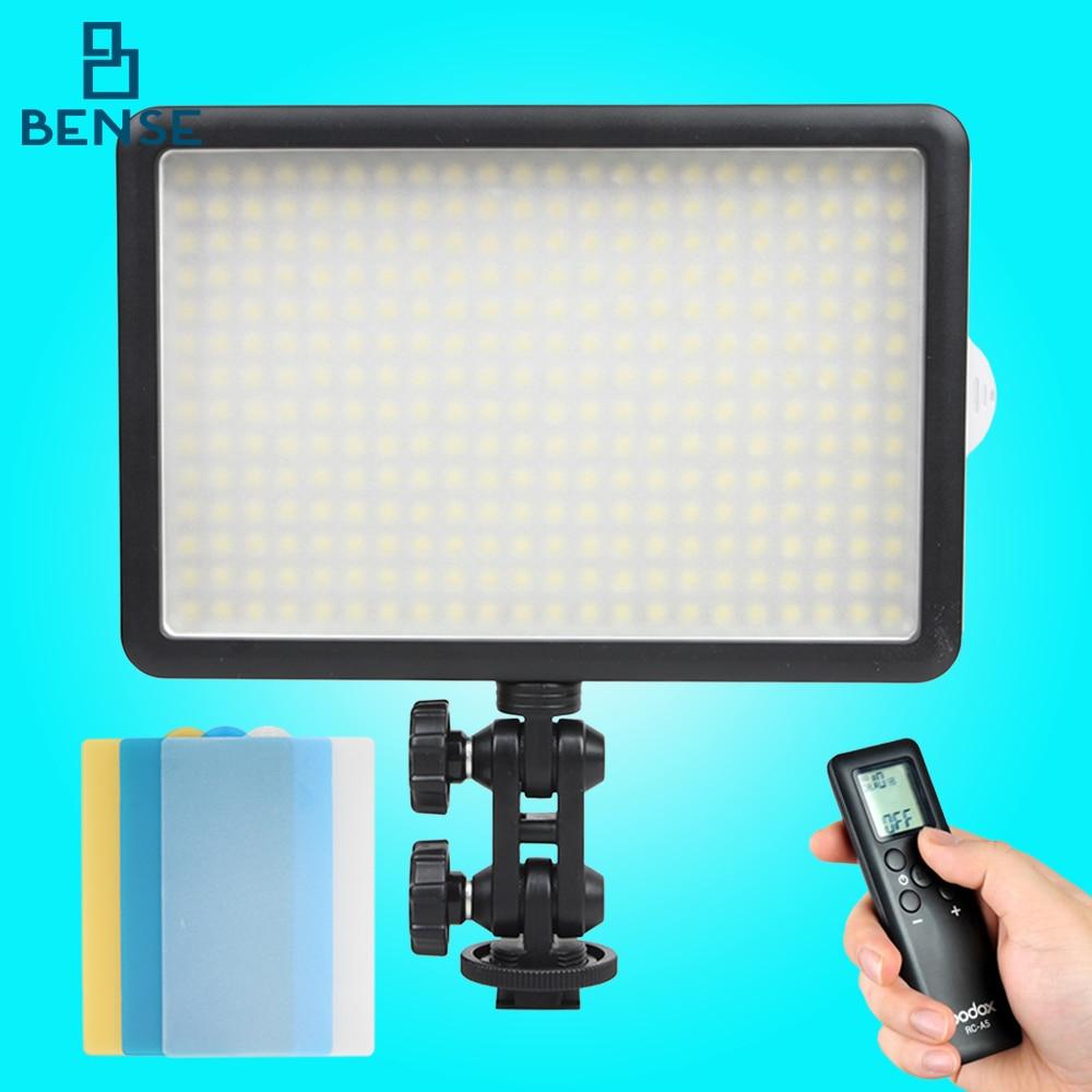 Godox LED-308W 5600K LED Camera Video Light +Remote Control for Ddigital DV godox professional led video light