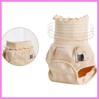 Newborn Baby Diaper LABS Pants Cotton Baby Cloth Diaper Urine Pad Pants Waterproof Washable Breathable Nappy