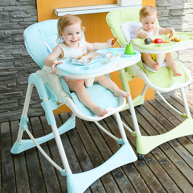 Babies Eat Desk And Chair 2016 New Portable Children Baby Seat Multifunctional Folding