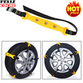 2017 Snow Chains 10pcs/Lot Car Tire Chain Securit tire Snow Chains SUV Truck Wheel Tyre Anti-skid Chains New A6008