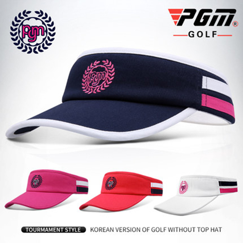 180ff2487af Detail Feedback Questions about PGM Summer New 4 Colors Women Outdoor Sports  Breathable Golf Caps Visor Sun Hat Marathon Hat Running Tennis Cap Empty  Top ...