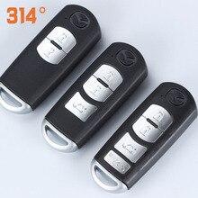 Два, три/четырехкнопочный автомобиля Замена дистанционного ключа оболочки комплект для Mazda Axela ATENZA CX5 CX4 CX3 MX5 замена ключа автомобиля Kit