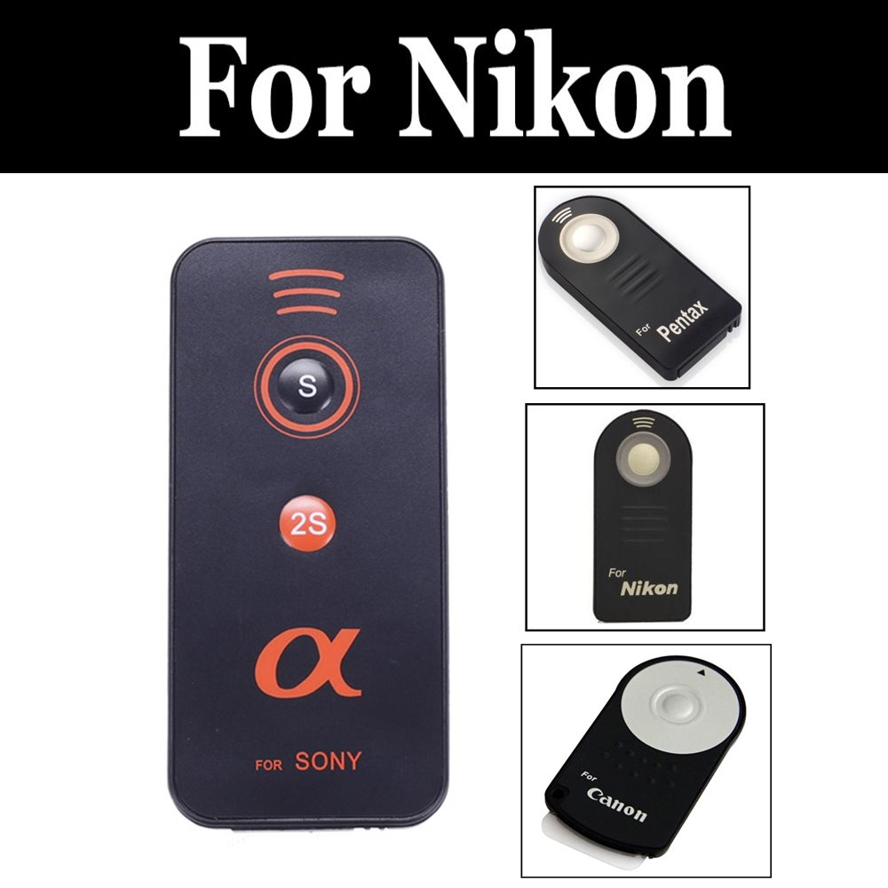 2019 Camera Ir Infrared Wireless Remote Control Shutter Release For Nikon D750 D7500 D800 D800e D810 D810a D850 Df E8400 Z6 Z7