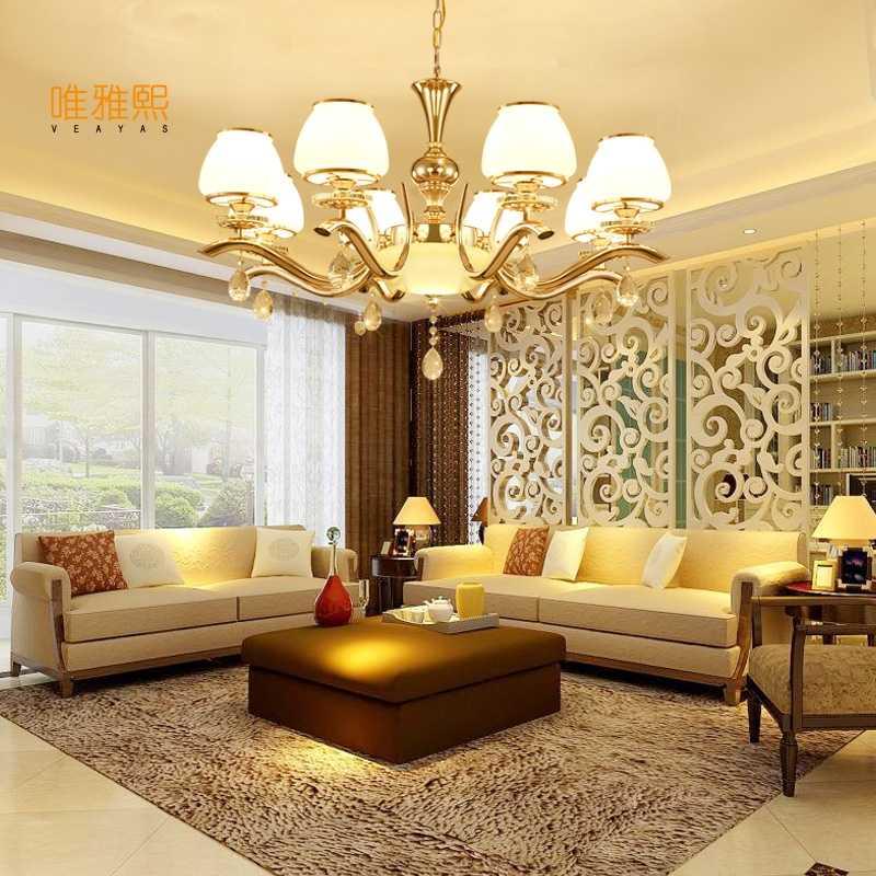 Modern LED Ceiling Chandelier Living Room Bedroom Creative Home