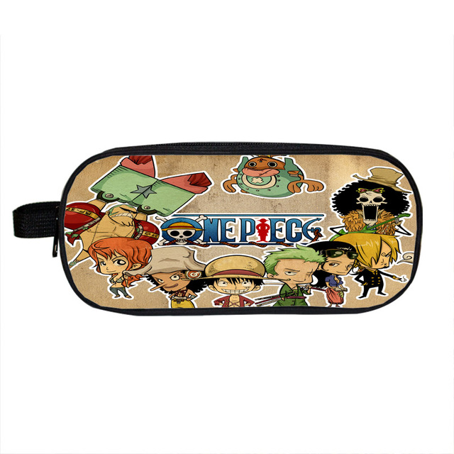 Anime One Piece Naruto Fairy Tail Pencil Case