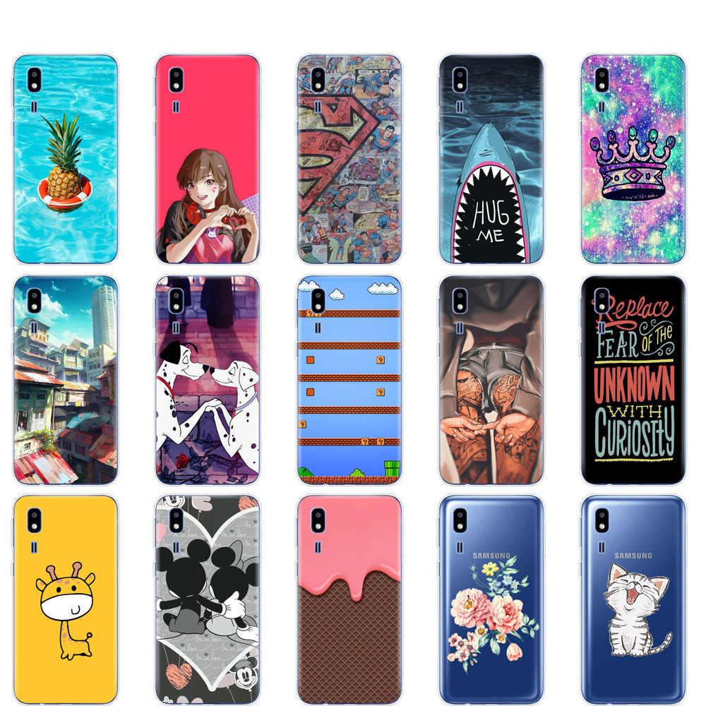 case For Samsung Galaxy A2 Core 2019 case Silicone Soft phone Cover For Samsung A 2 Core A2Core A260F 5.0'' Transparent shells