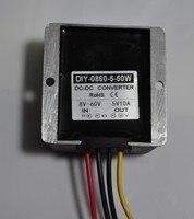 12V 24V 36V 48V 60V (8 60V) Step Down 5V 10A DC DC Buck Converter Output RoSH CE Waterproof Regulator Voltage Car Power Adapter