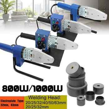 800 W 1000 W 220 V Elettrico di Saldatura A Caldo Macchina Strumento di Riscaldamento PPR PE PP Tubo Saldatrice del Tubo
