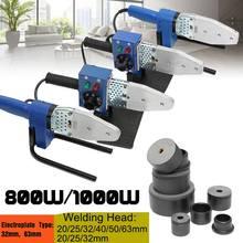 800W 1000W 220V חשמלי חם ריתוך מכונה חימום כלי PPR PE PP צינור צינור ריתוך מכונה