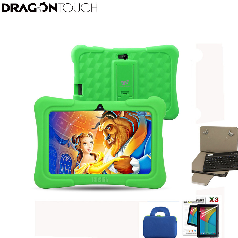 DragonTouch Green Y88X Plus 7 inch Children Tablet Quad Core Android 5.1 + Tablet case + Screen Protector + keyboard for Kid скатерть angel ya children tsye zb266 88