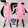 2016! NEW men moda vestuário DS cantor DJ spicy chicken O mesmo estilo Beyonce rosa bermuda jaqueta Hop palco trajes