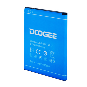 Image 5 - Original Mobile Phone Battery For Doogee X5 Batteries 2400mAh 3.7V Li ion Battery Rechargeable Bateria High Quality