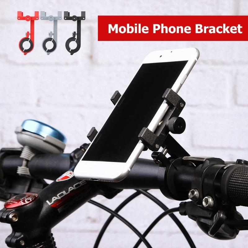 Bike Phone Bracket Motorcycle Fixed Navigation Adjustable <font><b>Smartphone</b></font> <font><b>Holder</b></font> <font><b>Bicycle</b></font> Accessories Outdoor Cycling <font><b>Bicycle</b></font> Racks image