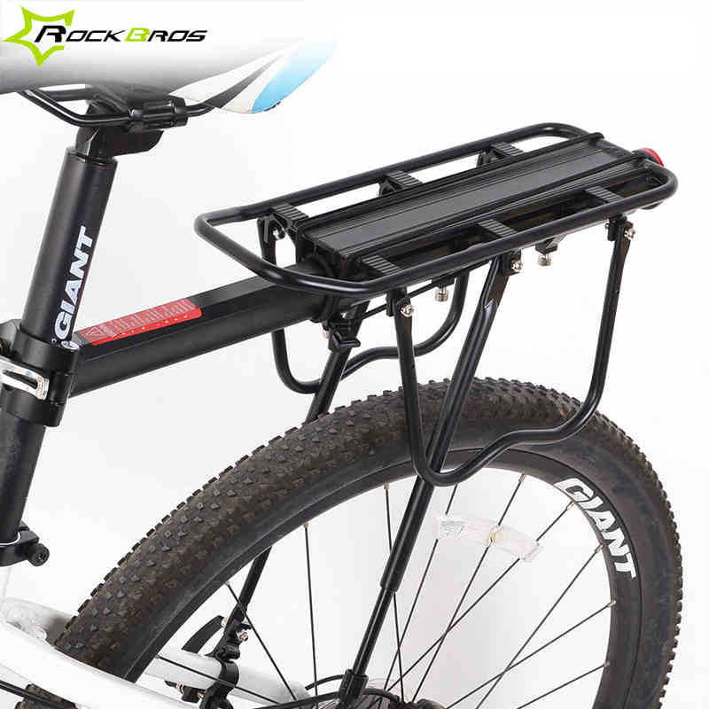 Rockbros Disc Brake V Aluminum Rack Bike Bicycle Rear Carry Carrier Cycling Seatpost Mount Seat In From Sports