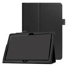 Funda para Huawei MediaPad T3 10 AGS-L09 AGS-L03 9.6 pulgadas Funda de la cubierta de LA Tableta de LA PU funda de piel para Honor Juego Pad 2 9.6