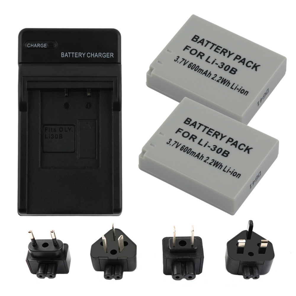 RP Li-30B Li30B charger Battery for Olympus Stylus Verve / MJU-mini Digital and S S.