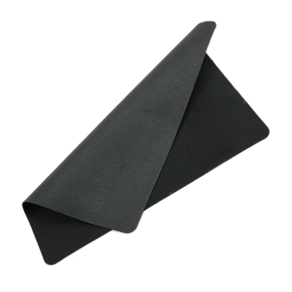 GTFS-Black Slim Square Mouse Pad Mat Mousepad For PC Optical Laser Mouse Trackball Mice